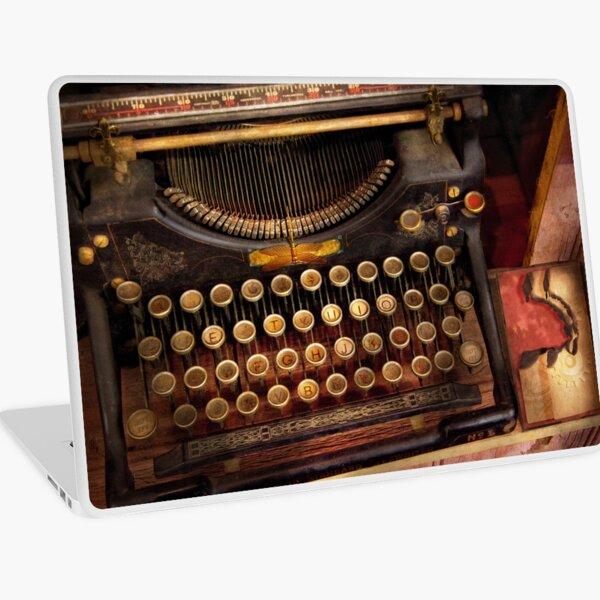 Steampunk - Just an ordinary typewriter Laptop Skin