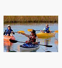 Kayak adventure Photographic Print