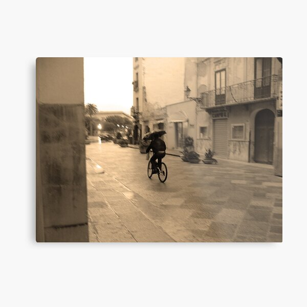 Hommage to Cartier-Bresson Metal Print