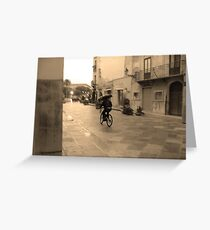 Hommage to Cartier-Bresson Greeting Card