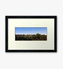 Rural pano Framed Print