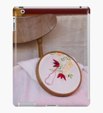 tambourine embroidery iPad Case/Skin