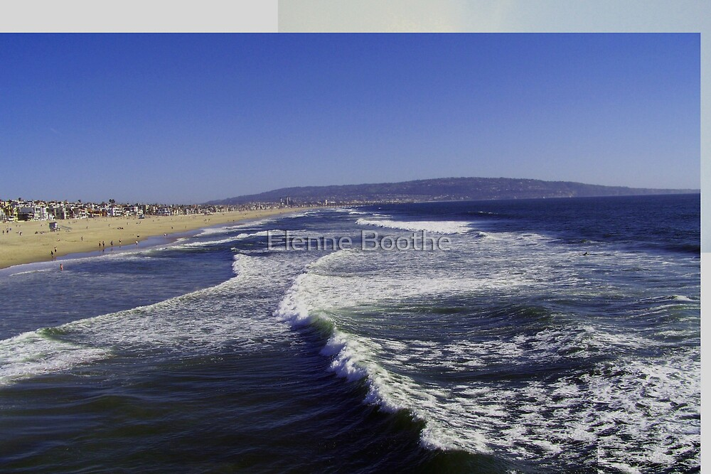 Hermosa Beach,Calif by Elenne Boothe