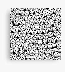 Silly Skulls Canvas Print