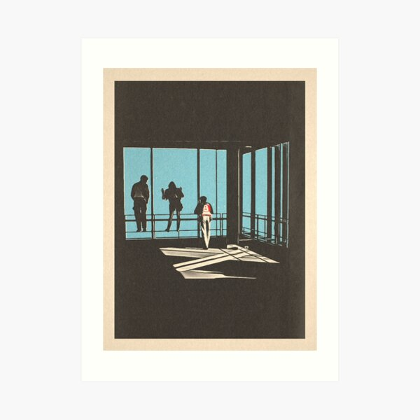 Ferris Bueller - Sears Tower Art Print