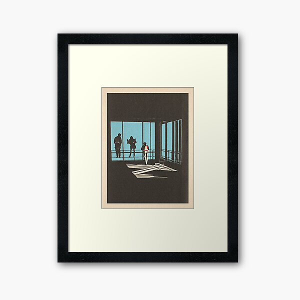 Ferris Bueller - Sears Tower Framed Art Print
