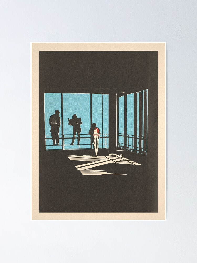 Alternate view of Ferris Bueller - Sears Tower Poster