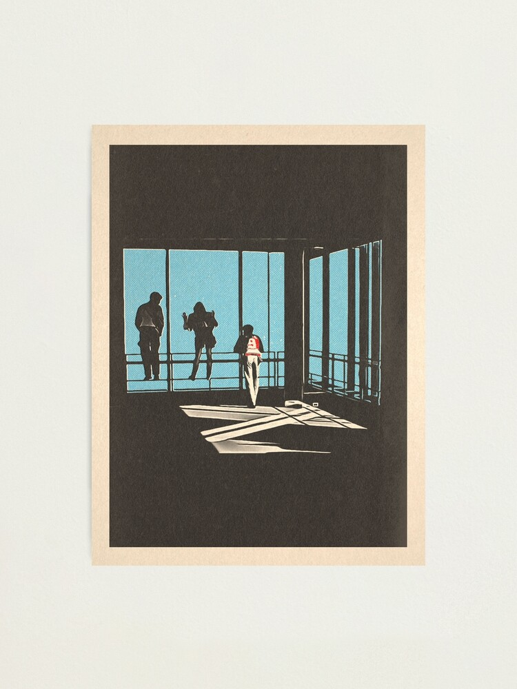 Alternate view of Ferris Bueller - Sears Tower Photographic Print