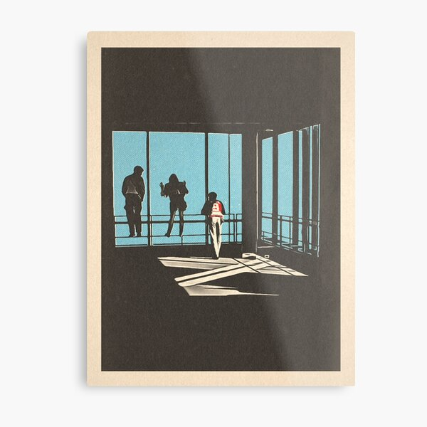 Ferris Bueller - Sears Tower Metal Print