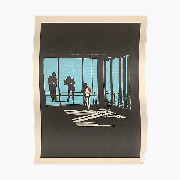 Ferris Bueller - Sears Tower Poster
