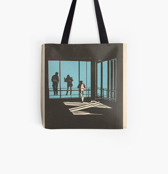 Ferris Bueller - Sears Tower All Over Print Tote Bag