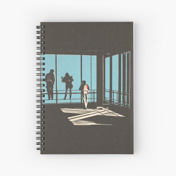 Ferris Bueller - Sears Tower Spiral Notebook