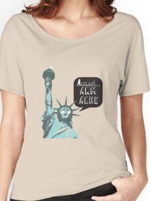 Liberty arm ache Women's Relaxed Fit T-Shirt