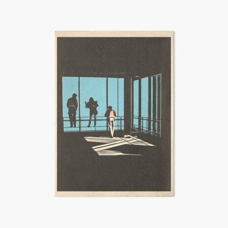 Ferris Bueller - Sears Tower Art Board Print