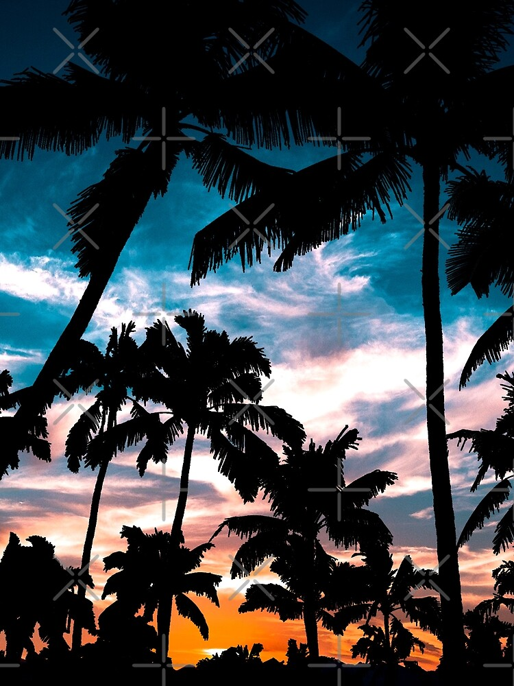 Palm trees summer dream by augustinet