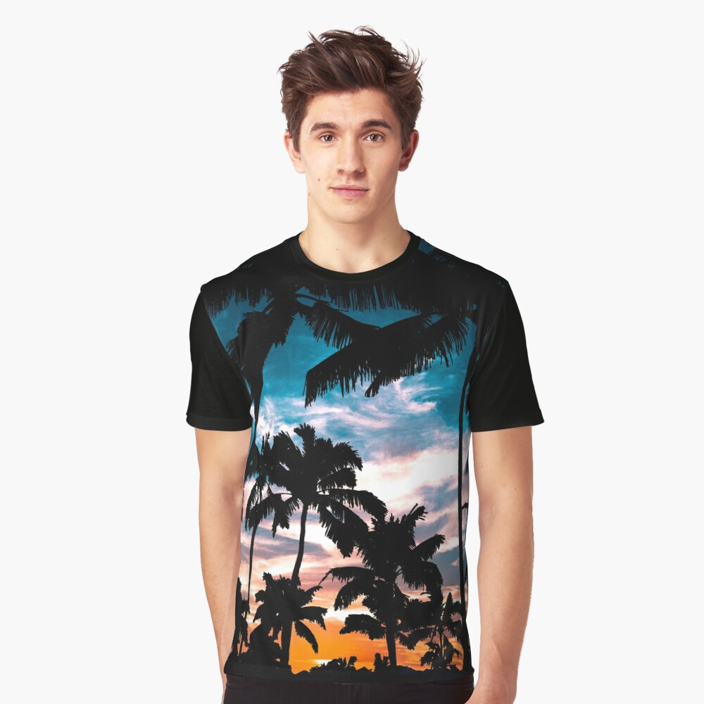Palm trees summer dream Graphic T-Shirt