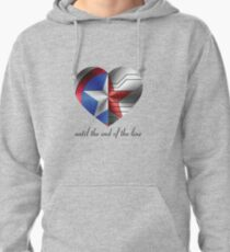 Stucky Heart Pullover Hoodie
