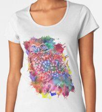 Rainbow owl Women's Premium T-Shirt