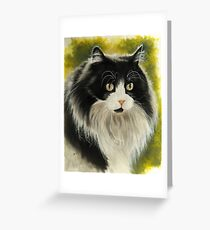 Maine Coon Greeting Card