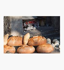 bread from the baker Photographic Print
