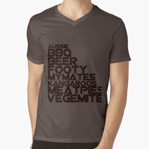 The Aussie T Shirt V-Neck T-Shirt