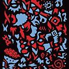 Dreams 005 - Rot und Blau von beth-cole
