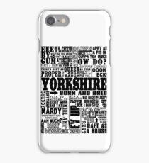 YORKSHIRE SAYINGS iPhone Case/Skin