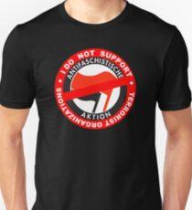 I Do Not Support Terrorist Organizations Antifa T-Shirt