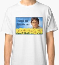 Gotta get Theroux this - Louis Theroux Groovy design.   Classic T-Shirt