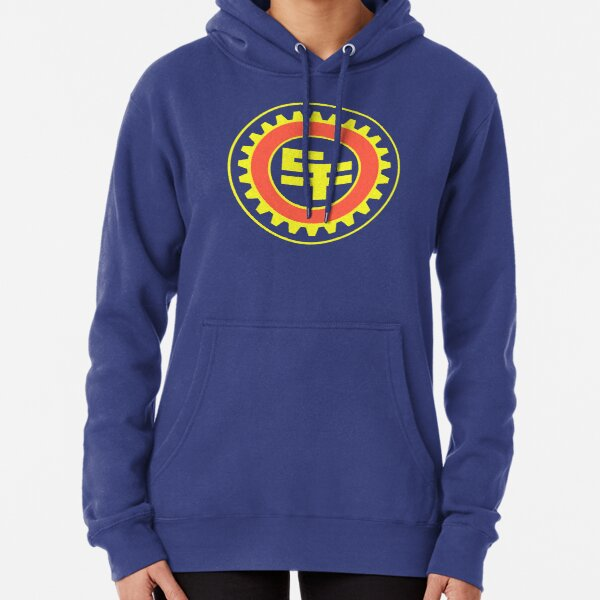 San Fransokyo Institute of Technology (No Text) Pullover Hoodie
