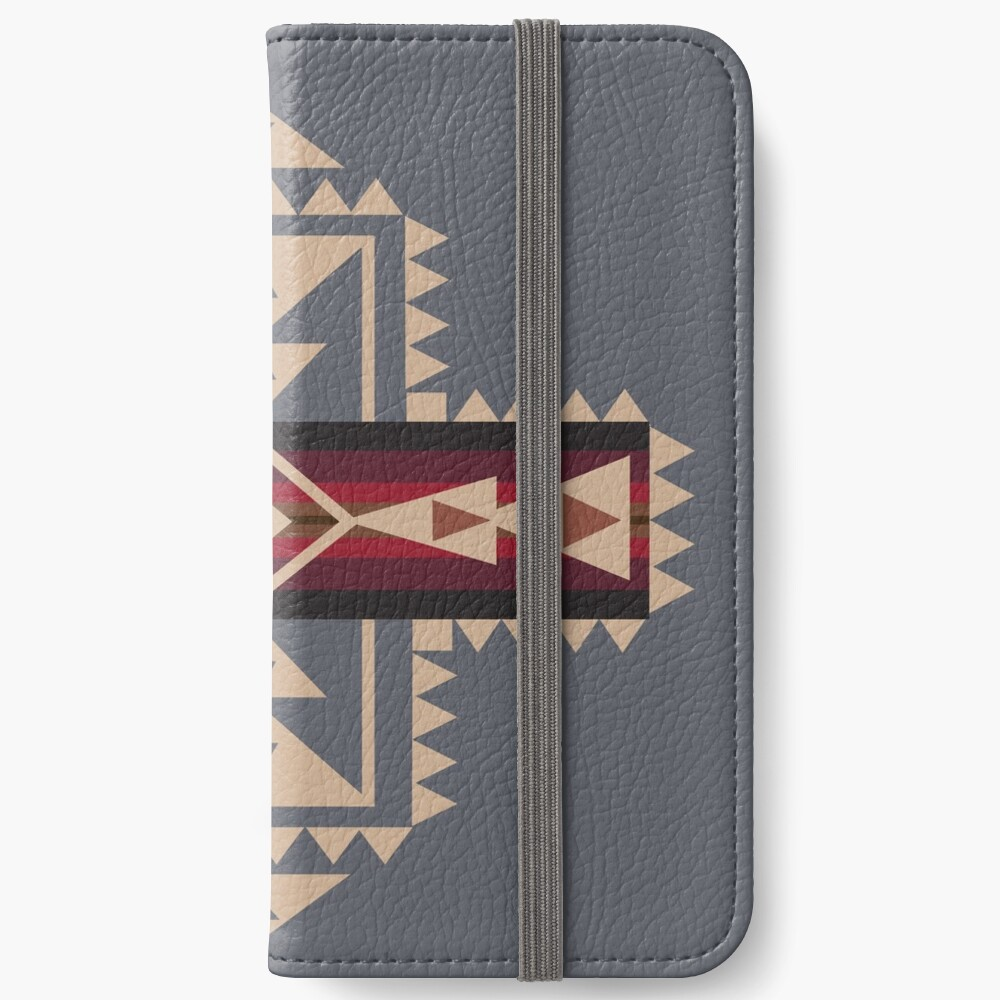 American Native Muster Nr. 68 iPhone Flip-Case