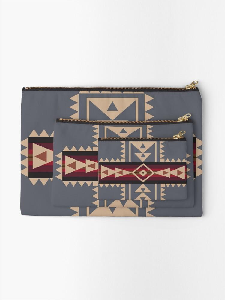 Alternative Ansicht von American Native Muster Nr. 68 Täschchen