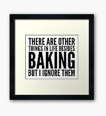 baking Framed Print