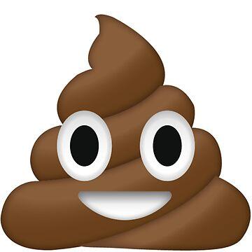 Poop Emoji by JoeJoestar