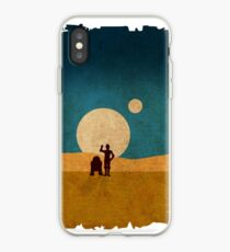 Droids In The Dunes iPhone Case