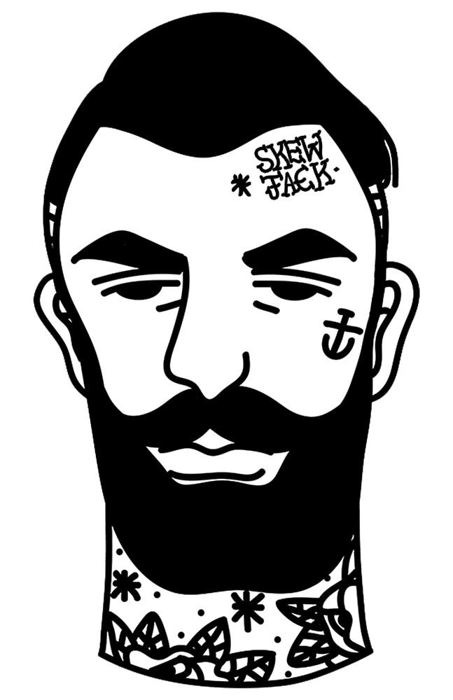Skew Tattoo by SKEWJACK