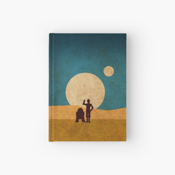 Droids In The Dunes Hardcover Journal
