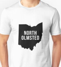 North Olmsted, Ohio Silhouette T-Shirt