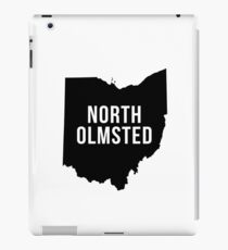North Olmsted, Ohio Silhouette iPad Case/Skin