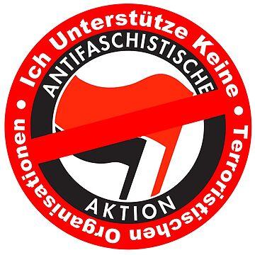 Gegen Terroristische Organisationen Antifa by undaememe