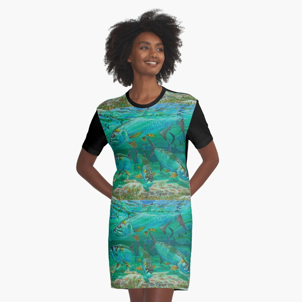 High Rollers T-Shirt Kleid