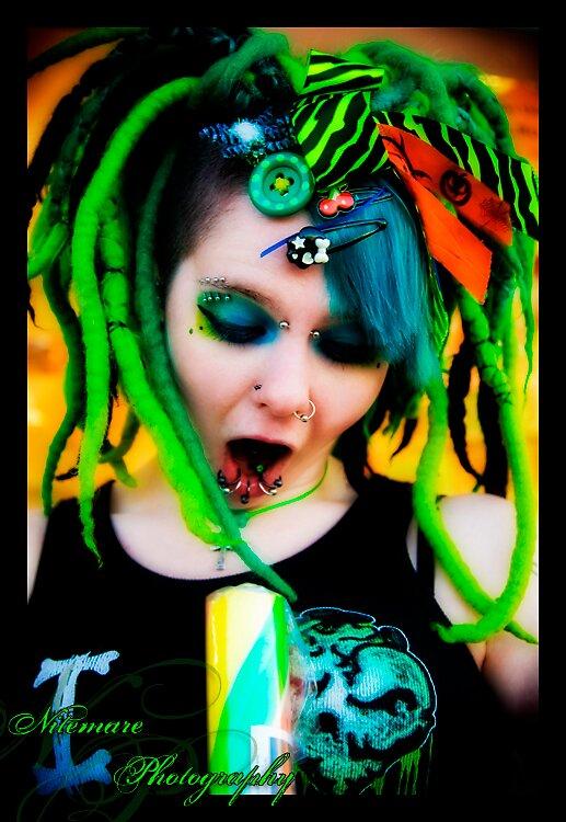 Queen of Green by nitemarephoto