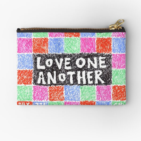 Project 321 - Love One Another Zipper Pouch