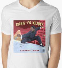 Camiseta de cuello en V Kung Fu Kenny