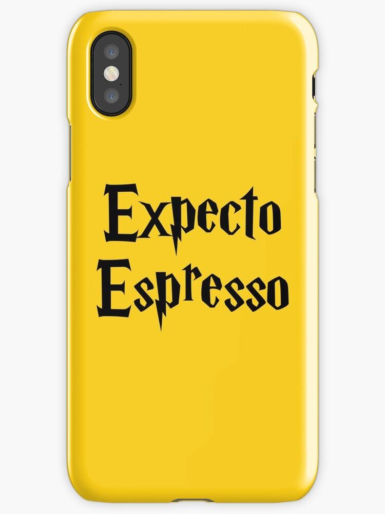 Expecto Espresso - I Await Espresso by FangirlFuel