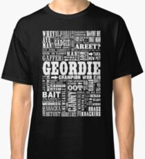 Geordie Sayings Print Classic T-Shirt