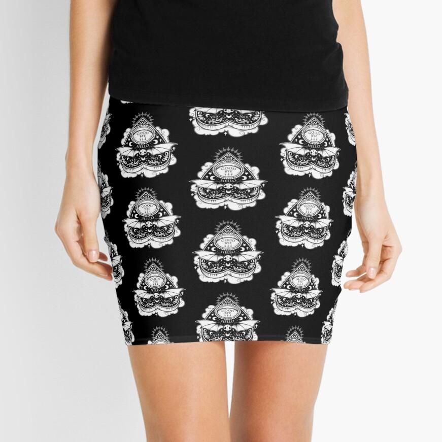 OUIJA Horror Mini Skirt