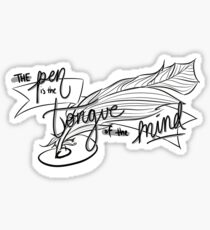 The Pen Sticker
