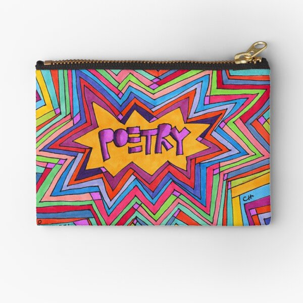 Project 321 - Poetry Starburst Zipper Pouch