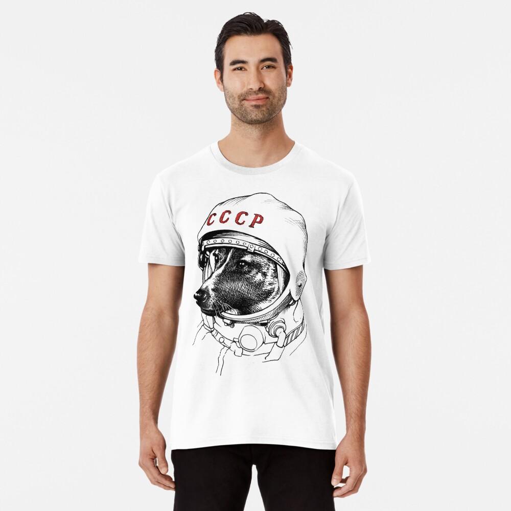 Laika, Weltraumreisende Premium T-Shirt